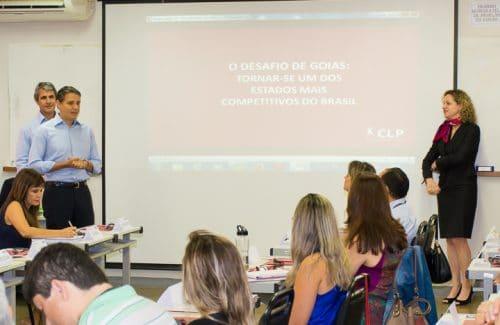 CLP dá início a treinamento de Executivos Públicos do Governo de Goiás
