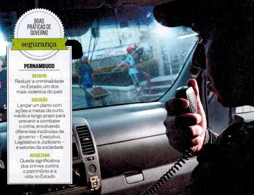 Série Agenda Positiva: uma vitória contra o Crime - Pernambuco
