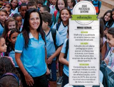 Série Agenda Positiva: o segredo é a pedagogia ? Minas Gerais