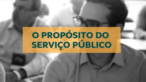 Servidores em formação do Conexão Pública