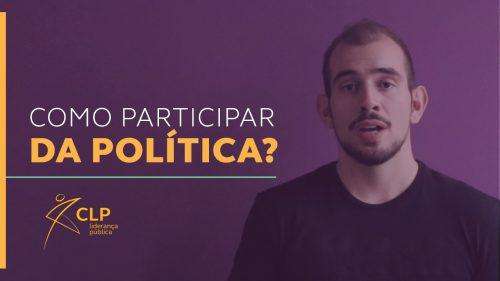 Como participar da política?