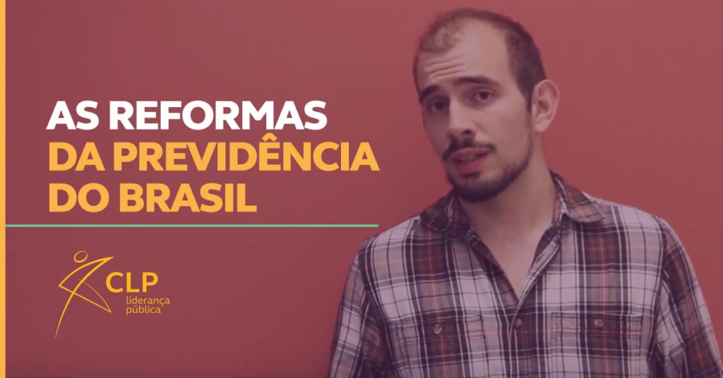 As reformas da Previdência do Brasil