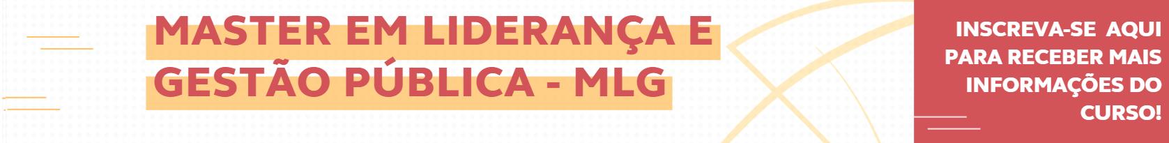 Banner Master em Liderança e Gestão Pública - MLG